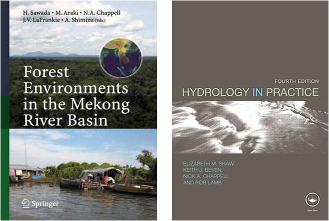 Shaw, E.M., Beven, K.J., Chappell, N.A. & Lamb, R., 2010. Hydrology in Practice. Fourth Edition. Taylor and Francis, Abingdon / Spon Press, London.