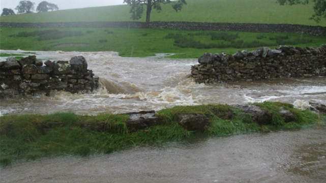 Scale Beck flooding during December 2015