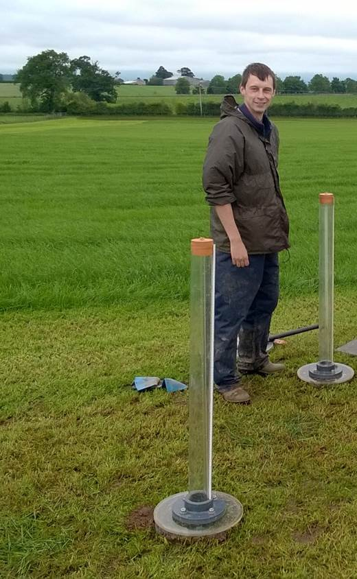 Ring permeametry on land affected by deep subsoiling